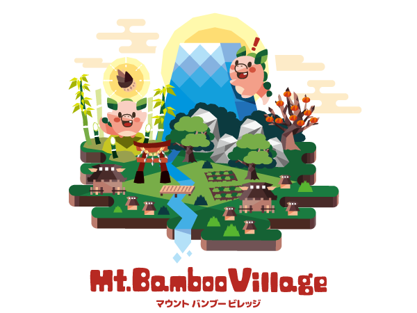 Mt.Bamboo Villageロゴ